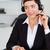 ritratto · professionali · segretario · chiamando · auricolare · ufficio - foto d'archivio © wavebreak_media