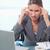 肖像 · 疲れ · 女性実業家 · 頭痛 · オフィス · 作業 - ストックフォト © wavebreak_media