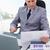 бизнесмен · рынке · исследований · откинувшись · Председатель - Сток-фото © wavebreak_media