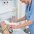 enfermeira · máscara · de · oxigênio · hospital · quarto · cama - foto stock © wavebreak_media