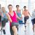 groep · glimlachend · mensen · dansen · gymnasium · studio - stockfoto © wavebreak_media