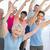 man · groep · mensen · yoga · studio · fitness · sport - stockfoto © wavebreak_media