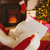 santa claus writing list with a quill stock photo © wavebreak_media