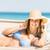 boldog · szabadság · nő · megnyugtató · napsütés · életstílus - stock fotó © wavebreak_media