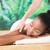 pretty · woman · indietro · massaggio · donna - foto d'archivio © wavebreak_media