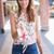 blusa · floral · padrão · verão · isolado · branco - foto stock © wavebreak_media