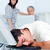 Tired businessman sleeping on his keyboard stock photo © wavebreak_media