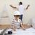 father and son refurbishing home stock photo © wavebreak_media