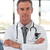 ritratto · medico · piedi · ospedale · mano · sorriso - foto d'archivio © wavebreak_media