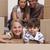 Porträt · Kinder · Boxen · Eltern · neue · Wohnung - stock foto © wavebreak_media