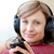 Relaxed woman is listening the music in the living-room  stock photo © wavebreak_media