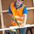 харизматический · мужчины · работник · желтый - Сток-фото © wavebreak_media