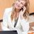 女性実業家 · ノートパソコン · コーヒー · 食品 · 話し - ストックフォト © wavebreak_media