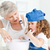 女の子 · 祖母 · ホーム · 家 · 少女 - ストックフォト © wavebreak_media