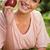 気楽な · 若い女性 · 日照 · 外 · 新鮮な空気 - ストックフォト © wavebreak_media