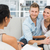 smiling couple reconciling at therapy session stock photo © wavebreak_media