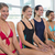 female aqua aerobics class smiling stock photo © wavebreak_media