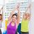 fiatal · fitt · nő · gyakorol · jóga · testmozgás - stock fotó © wavebreak_media