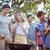 boldog · barátok · park · barbecue · napos · idő · nő - stock fotó © wavebreak_media