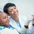 masculino · dentista · feminino · paciente · dental - foto stock © wavebreak_media