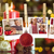 composite image of hanging christmas photos stock photo © wavebreak_media