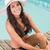 красивая · женщина · Бикини · расслабляющая · Бассейн · воды · Sexy - Сток-фото © wavebreak_media