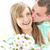 liefhebbend · man · bos · bloemen · vriendin · witte - stockfoto © wavebreak_media