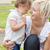 mãe · filha · jardim · verão · família - foto stock © wavebreak_media