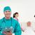cofident surgeon with his team in hospital stock photo © wavebreak_media