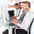 mooie · manager · leidend · vertegenwoordiger · team · kantoor - stockfoto © wavebreak_media