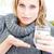 enfermos · deprimido · mujer · pastillas · agua - foto stock © wavebreak_media