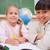 улыбаясь · школьницы · рисунок · глядя · камеры · классе - Сток-фото © wavebreak_media