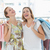 cheerful women with shopping bags in the clothes store stock photo © wavebreak_media
