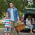 家族 · 2 · 子供 · ピクニック · 肖像 · 父から息子 - ストックフォト © wavebreak_media
