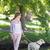cute blonde with her labrador dog in the park stock photo © wavebreak_media