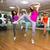 dans · kadın · heyecanla · mutlu · spor - stok fotoğraf © wavebreak_media