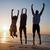 szczęśliwy · wolności · beztroski · plaży · wakacje · kobieta - zdjęcia stock © wavebreak_media