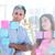 jóvenes · creativa · gente · de · negocios · mirando · foto · editor - foto stock © wavebreak_media
