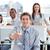 business · team · drinken · champagne · kantoor · glimlach · team - stockfoto © wavebreak_media