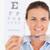 портрет · брюнетка · глаза · специалист · из · очки - Сток-фото © wavebreak_media