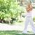 genç · kadın · açık · havada · spor · güzellik · yaz · yeşil - stok fotoğraf © wavebreak_media