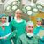cirujano · equipo · de · trabajo · paciente · quirúrgico · habitación - foto stock © wavebreak_media