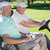 golfer · golftas · man · portret · zak - stockfoto © wavebreak_media