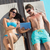 zon · vrouw · man · zomer · blauwe · hemel - stockfoto © wavebreak_media