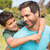 vader · zoon · platteland · man · gelukkig · kind - stockfoto © wavebreak_media