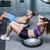 muscular couple doing bosu ball exercises stock photo © wavebreak_media
