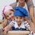 aandachtig · moeder · helpen · meisje · koken · biscuits - stockfoto © wavebreak_media