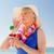 trinken · Cocktail · Strand · Wasser · glücklich - stock foto © wavebreak_media