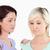 Gorgeous women comforting her friend in a studio stock photo © wavebreak_media