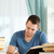 młodych · mężczyzna · student · książki · sprawozdanie · papieru - zdjęcia stock © wavebreak_media